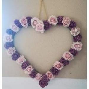 Mini  rózsafejek 10db/cs krém