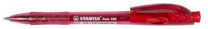 Golyóstoll, 0,38 mm, nyomógombos, STABILO