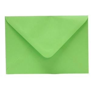 Színes boríték LC/6 enyvezett élénk lime zöld