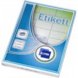 Etikett cimke OFFICE 21 63,5x38,1 univerzális LCJ121