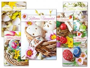 Képeslap Húsvét 098 A /borítékos