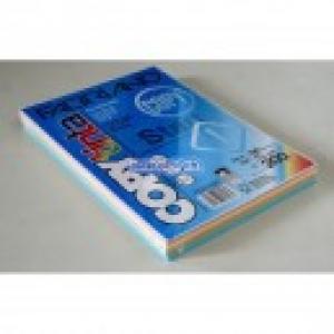 Sz.fénymásolópapír FABRIANO A/4 200g mix pasztell színek
