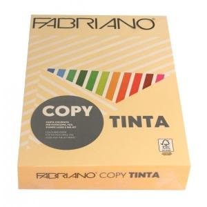 Sz.fénymásolópapír FABRIANO kétoldalas A/4 200g paszt.barack 100 ív/csg 64721297 (45)