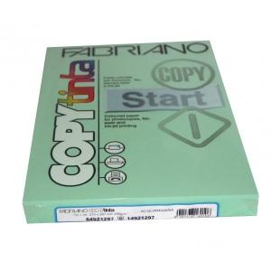 Sz.fénymásolópapír FABRIANO kétoldalas A/4 200g paszt.zöld akvamarin 100 ív/csg 64921297 (72)