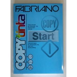 Sz.fénymásolópapír FABRIANO kétoldalas A/4 200g élénk mélykék 100ív/csg 65221297 (78)