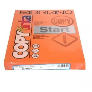 Sz.fénymásolópapír FABRIANO kétoldalas A/4 200g élénk narancs 100ív/csg 65421297 (48)