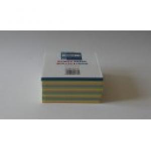 Tépőtömb   (9,5x9,5x4,5) színes (80g)