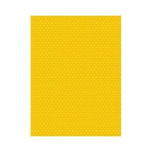 Karton kétoldalas HEYDA A/4 200g pöttyös sárga