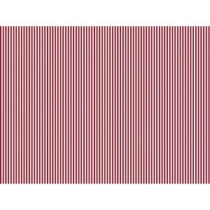 Karton kétoldalas HEYDA A/4 200g csíkos piros-fehér