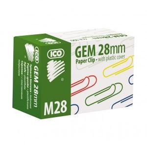 Ico gémkapocs színes 28mm 100db-os