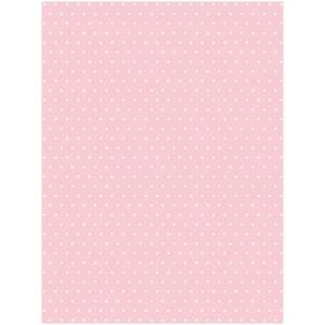 Karton kétoldalas HEYDA A/4 200g pöttyös rózsaszín