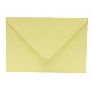Színes boríték OFFICE 21 LC/6 enyvezett pasztell banán sárga