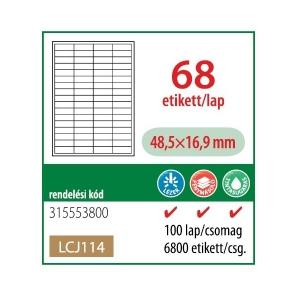 Etikett cimke OFFICE 21 48,5x16,9 univerzális LCJ114