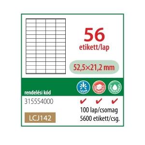 Etikett cimke OFFICE 21 52,5x21,2 univerzális LCJ142
