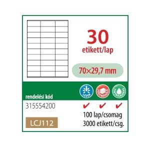 Etikett cimke OFFICE 21 70x29,7 univerzális LCJ112