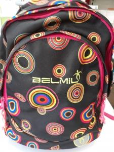 Belmil Circle pöttyös  ergonomikus iskolatáska