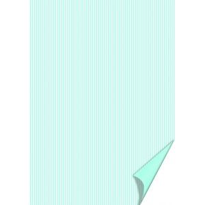 Karton kétoldalas HEYDA A/4 200g csíkos vil.kék-fehér
