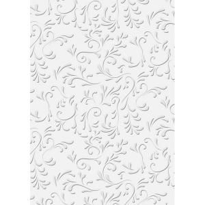 Karton HEYDA A/4 220g nyomott mintás Róma fehér