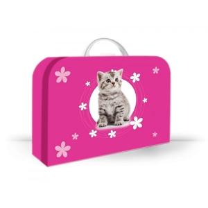 Óvodai bőrönd cica 35x23x10