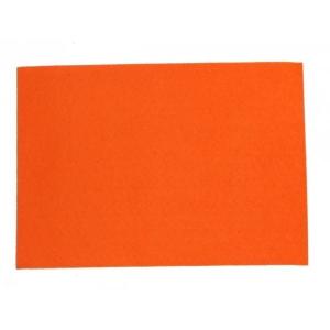 Filclap puha A/4 (1mm) narancssárga