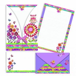 Levélpapír borítékkal ARGUS Bagoly 1051-0242
