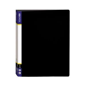 Gyűrűskönyv ECONOMIX A/4, 25mm gyűrű, 2k ,35mm gerinc, műanyag , vegyes színek