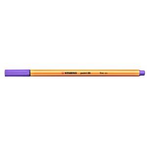 Tűfilc STABILO Point 88/59 (0,4 mm) világos lila