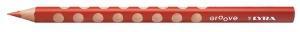 Színes ceruza Lyra Groove Slim vékony háromszögletű szóló 2820021 piros