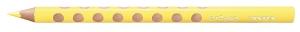 Színes ceruza Lyra Groove Slim vékony háromszögletű szóló 2820006 citromsárga