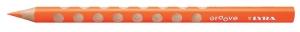 Színes ceruza Lyra Groove Slim vékony háromszögletű szóló 2820013 narancs