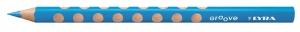 Színes ceruza Lyra Groove Slim vékony háromszögletű szóló 2820047 világoskék