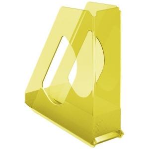 Irattartó papucs ESSELTE Colour`Ice áttetsző sárga
