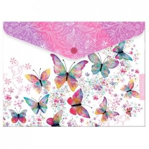 Irattartó patentzáras ARGUS A/4 PP Butterfly