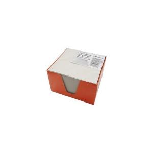 Tépőtömb (9x9x6) karton tartóban fehér lap
