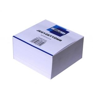 Tépőtömb OFFICE 21 (9,5x9,5x5) fehér famentes 80g