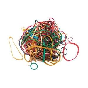 Gumigyűrű színes (2-4cm) 10g