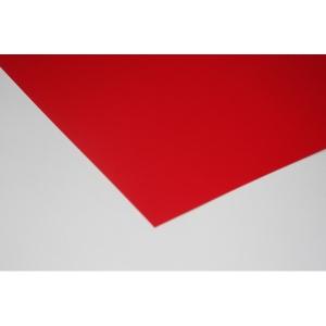 Karton festett egyoldalas 50X70 piros