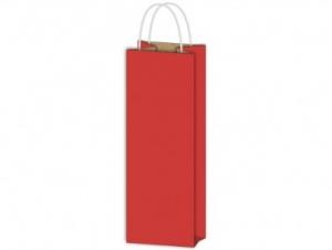 Italos dísztasak papír piros 120x360x90