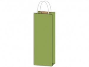 Italos dísztasak papír zöld 120x360x90
