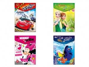 Irattartó tasak patentos A/6 Disney