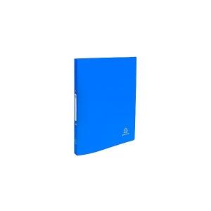 Gyűrűskönyv EXACOMPTA A/4 2k 20mm műanyag kék