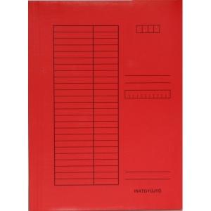 Iratgyűjtő SO-RE A/4 230g egyszínű piros