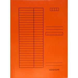 Iratgyűjtő SO-RE A/4 230g egyszínű narancs
