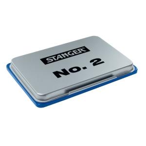 Bélyegzőpárna STANGER (7x11cm) kék