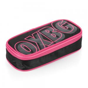 OXY BLACK LINE rózsaszín bedobálós tolltartó