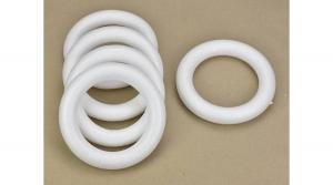Polisztirol koszorú 15cm 5db/csomag