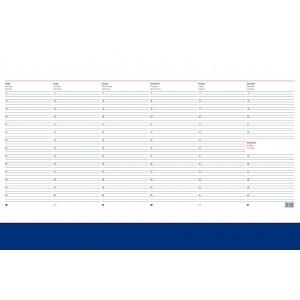 Könyöklő jegyzet KRENN (38X57) bianco CLASSIC PVC kék
