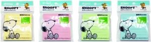 Öntapadó jegyzettömb M&G Snoopy Pasztell, 76x76mm, 80 lap vonalas