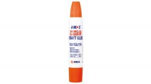 Amos kétvégű fehér ragasztó, 34 ml