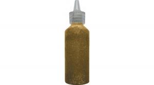 TRACR00298 Amos csillámos ragasztó 22ml sima arany színű